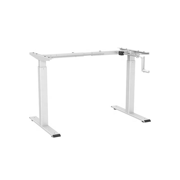 JIECANG hand crank manual sit-stand height-adjustable standing desk