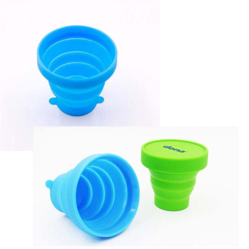 Different Color Mood Silicone Wine Cup Glass Sets