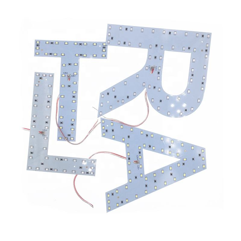 Numbers sign Capital letters module 5730 smd 5050 RGB led modules 12V led alphabet letter