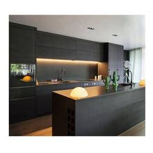 VAPSINT customized designs 3D high quality pvc modern kitchen cabinet