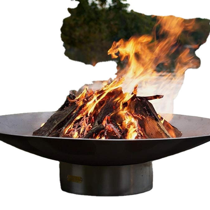 custom outdoor fire bowl large steel patio Fire pit