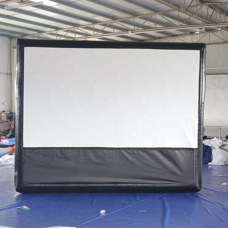 Mobile Air Disegel Layar Film Inflatable untuk Outdoor