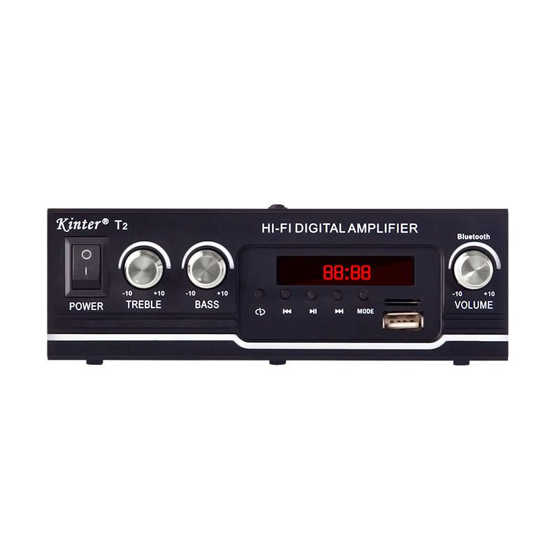 Kinter T2 HIFI 2 kanaals usb TF input FM radio Bluetooth amp audio versterker