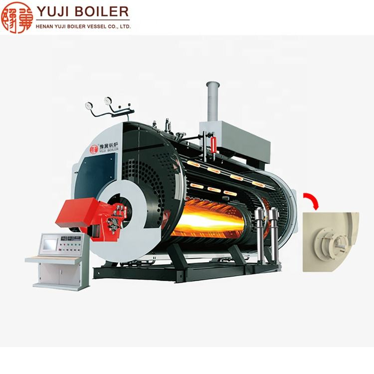 Waste Heat Recovery 13bar Oil Fuel Steam Boiler for Edible Oil Refinery Plant
