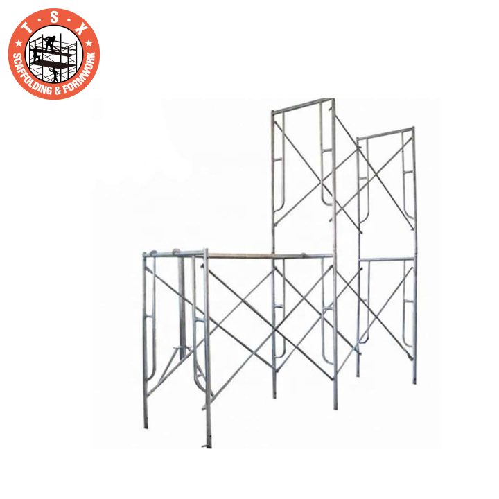 Tianjin TSX rolling mobile movable q235 steel scaffolding towers