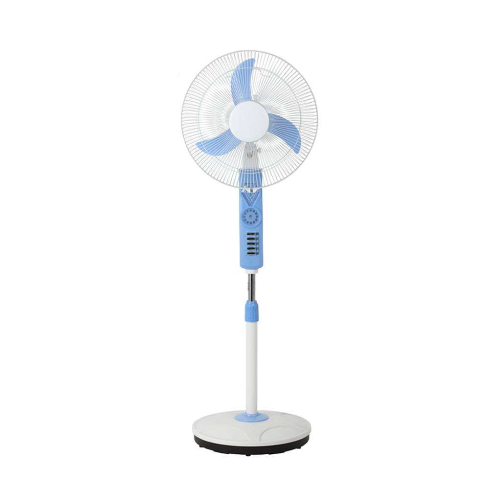 Good quality 18 inch cooling solar powered 12V dc stand fan