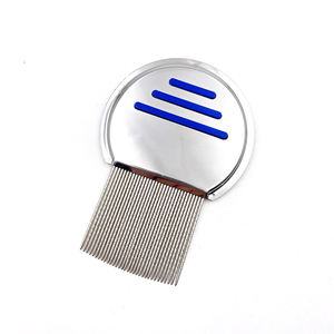 High quality metal thread needle lice comb