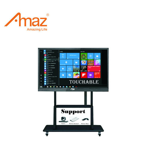 Amaz Smart Android Systeem Touch Screen Pc 65 Inch All In One Onderwijs Tv