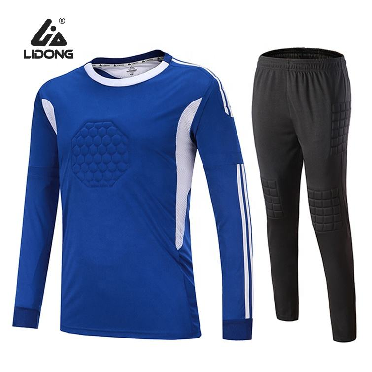 Best Selling Club Football Clothing Suit Sublimation goalkeeper Football Uniform Practice Uniform