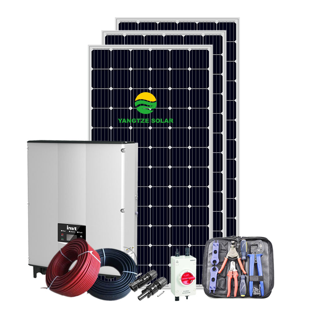1KW diy solar panel kits for home grid system