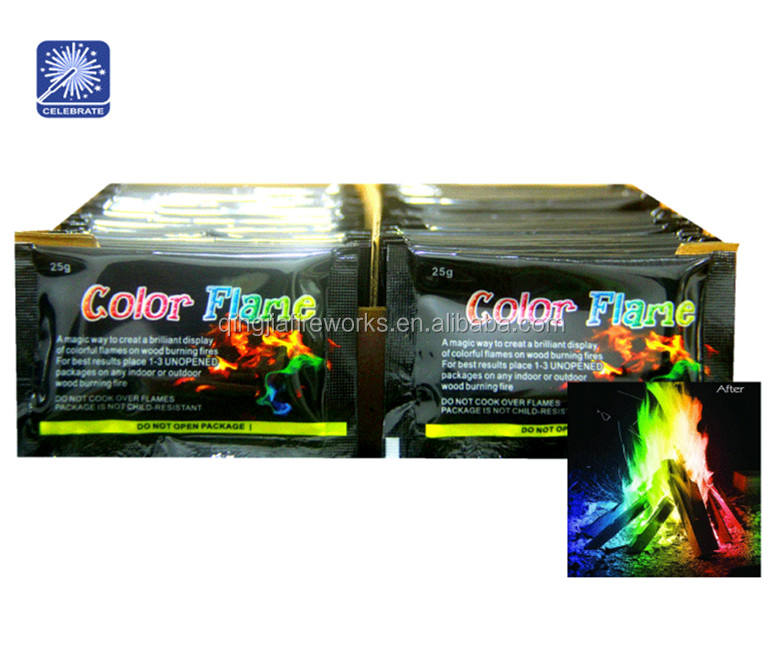 25g Lowest price Colorant wood burning color fire Flame Mystical fire magic color change