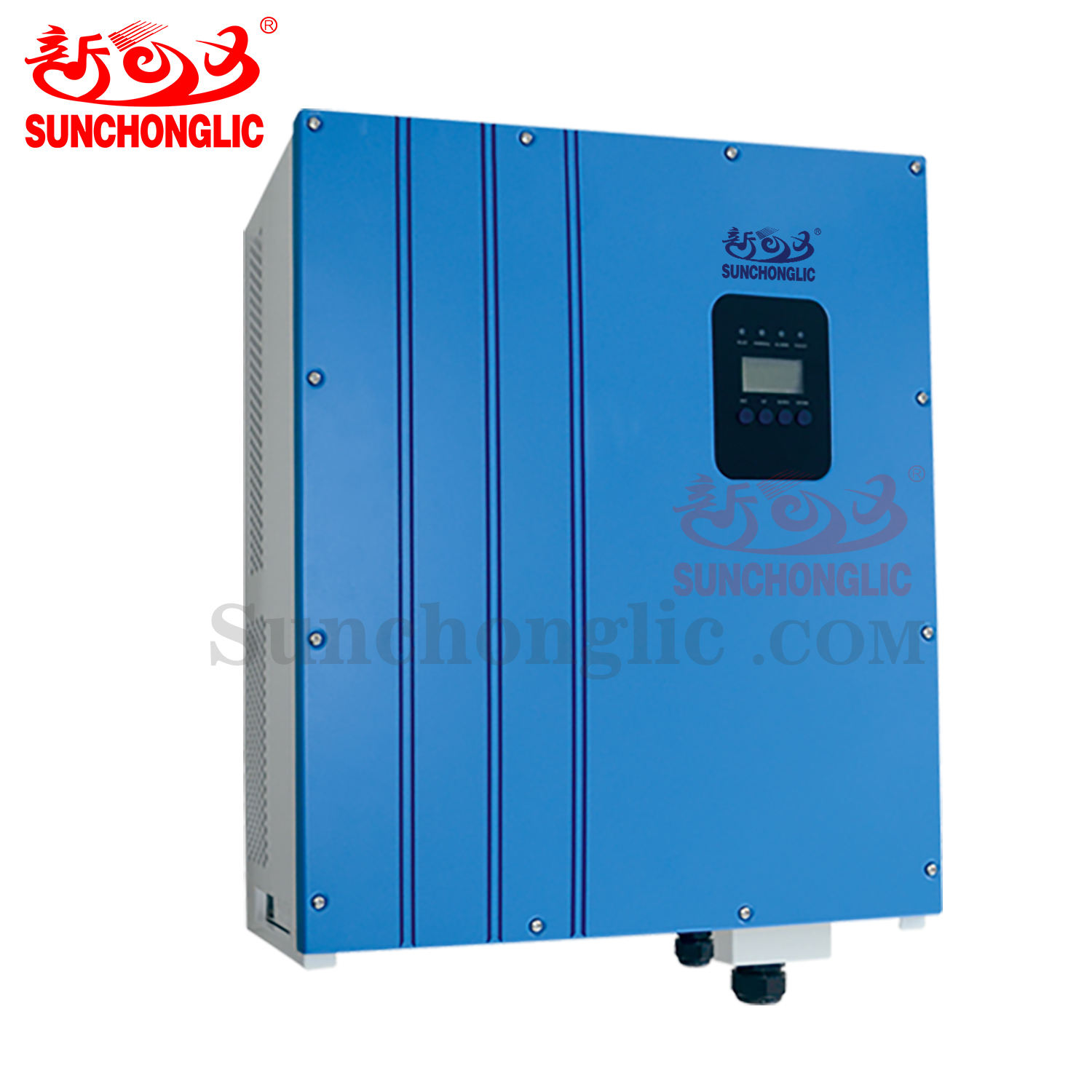 Sunchonglic 10kw 3 phase 380V mppt solar on grid tie inverter
