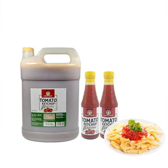 Wholesale Halal Glass Bottle Tomato Ketchup Dubai