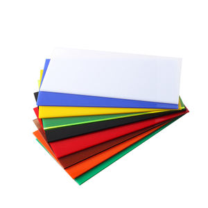 excellent quality wear resistant 2mm color pc acrylic plastic sheet for led panel