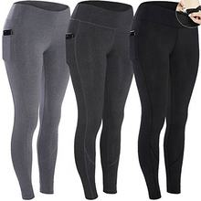 Workout Leggings With Pocket - Yoga Pants For Running Sports Fitness Gym 2018 New Fitness Women Leggings