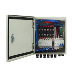 pv array 6 String solar panel combiner box pv with 12A Circuit Breaker PV