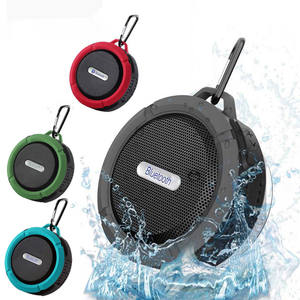 C6 Outdoor Mini Nirkabel Bluetooth 3.0 Stereo Portable Speaker Built-In MIC Shock Resistance IPX4 Tahan Air Keras Speaker