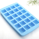 LFGB Certified Long Lasting 24 Cavities Silicone Ice Cube Tray Easy Release Ice Cube Molds For Beverages