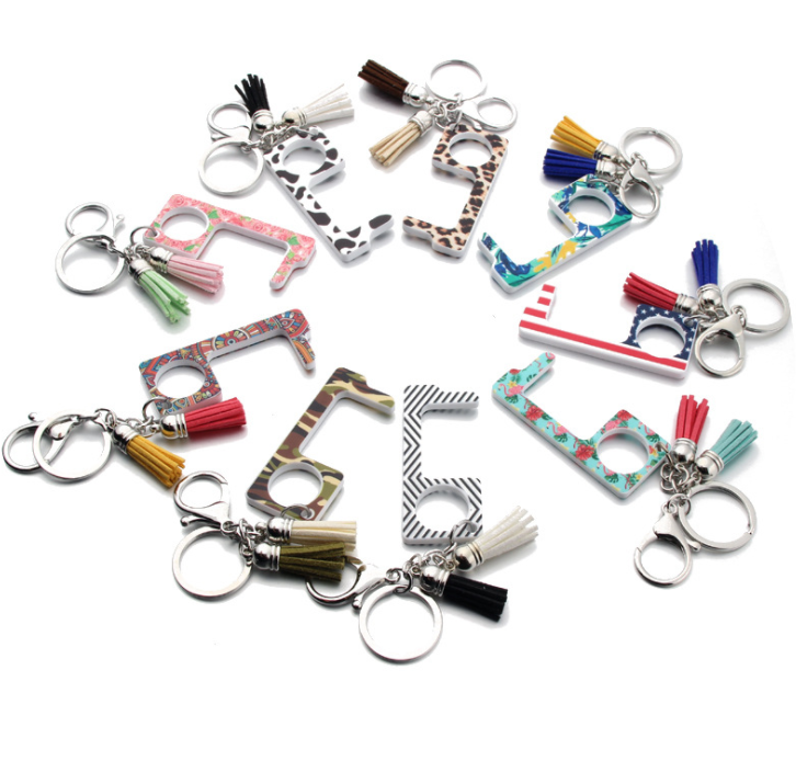 Factory Price Stylus Keychain Brass Keychain Door Opener No Touch Key,/Door Opener Keychain