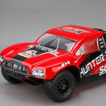 Professional Racing Car 1/10 4WD BRUSHLESS ELECTRIC SHORT COURSE TRUCK - PC Body Remote control Cars