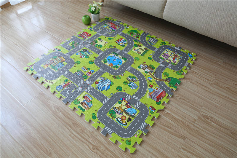 Baby Educational Traffic Play Mat