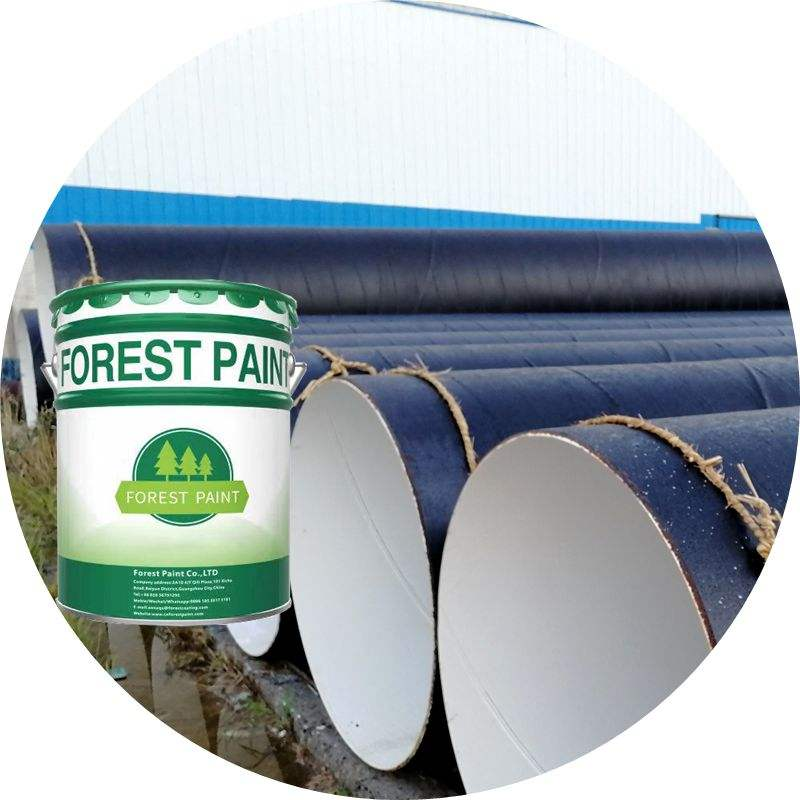 Coal-tar epoxy anti corrosion pipeline and steel structure topcoat paint