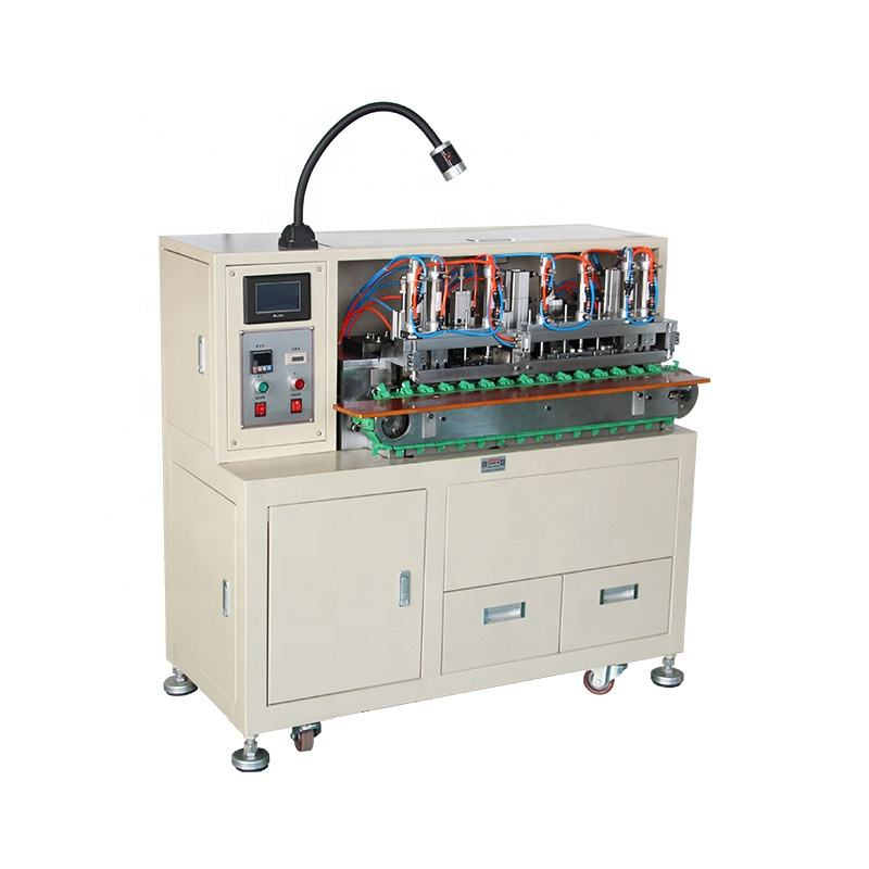 Over 10 years experience wire tinning machine for multicore cable stripping twisting and tinning