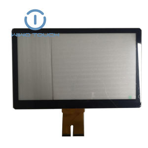 custom 15.6 inch multi touch projected capacitive USB touch screen panel example for laptop