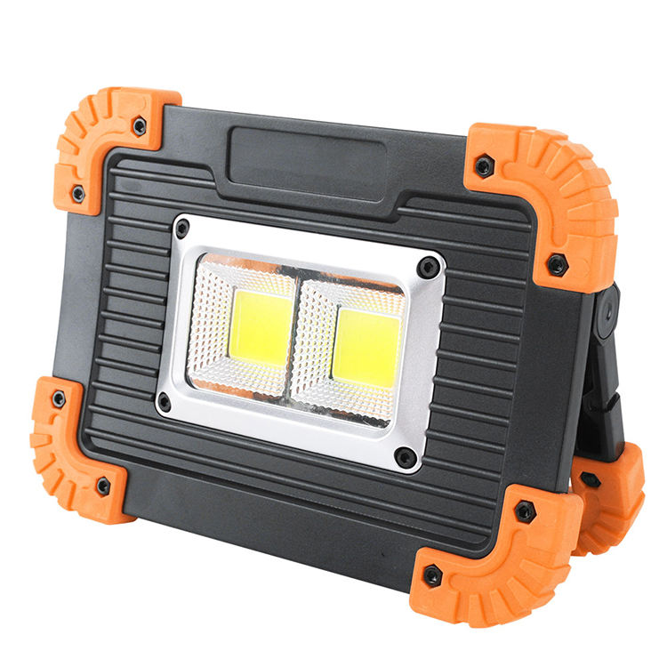 Amazon Outdoor 20W Multifunction Worklight, Portable USB Rechargeable COB LED Work Light For Camping
