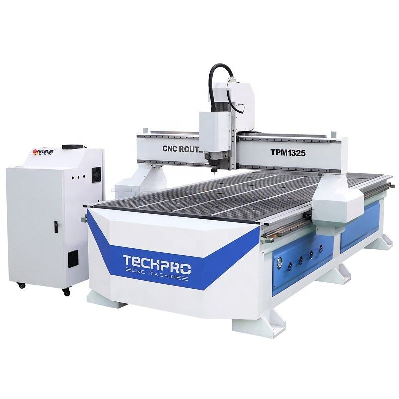 TechPro High quality affordable CNC Router machine for woodworking TPM1325