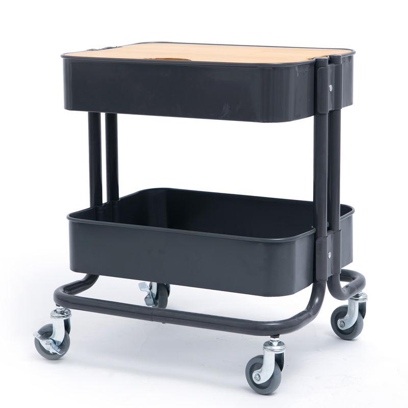 Atacado móveis De Armazenamento utilitário carrinho de rolamento para a vida organizada