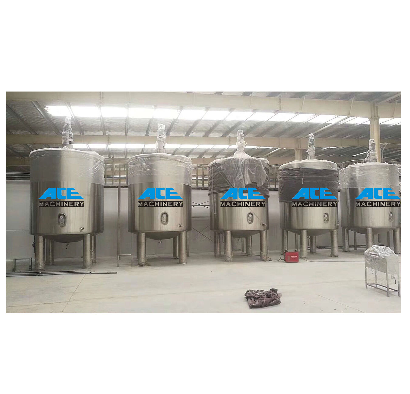 Ace Industrial Tanks Dry Swing Meat Flour Spices Laboratory Liquid Chemical Machine / Mixing Equipment Powder 50L