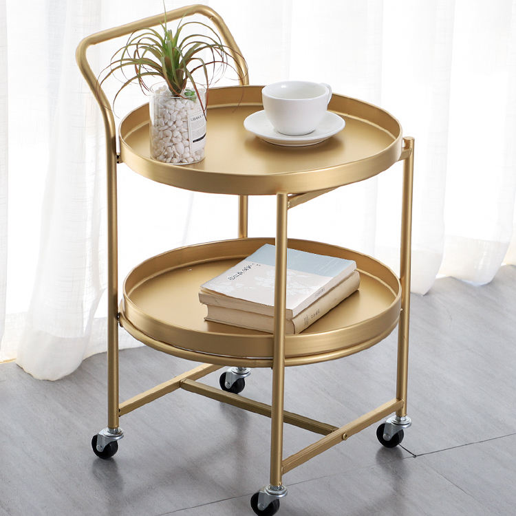 Coffee Table New Design Gold End Corner Small Tray Nordic Living Room Furniture Side Round Sets Modern Coffee Tables With Wheels