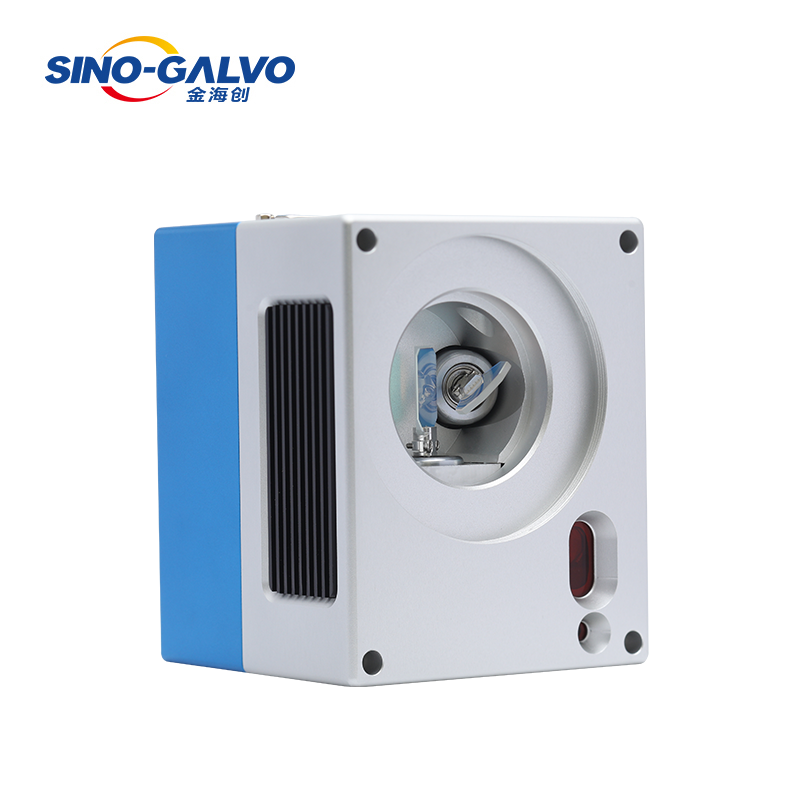 Digital galvanometer stable performance scan head with Nd YAG laser module
