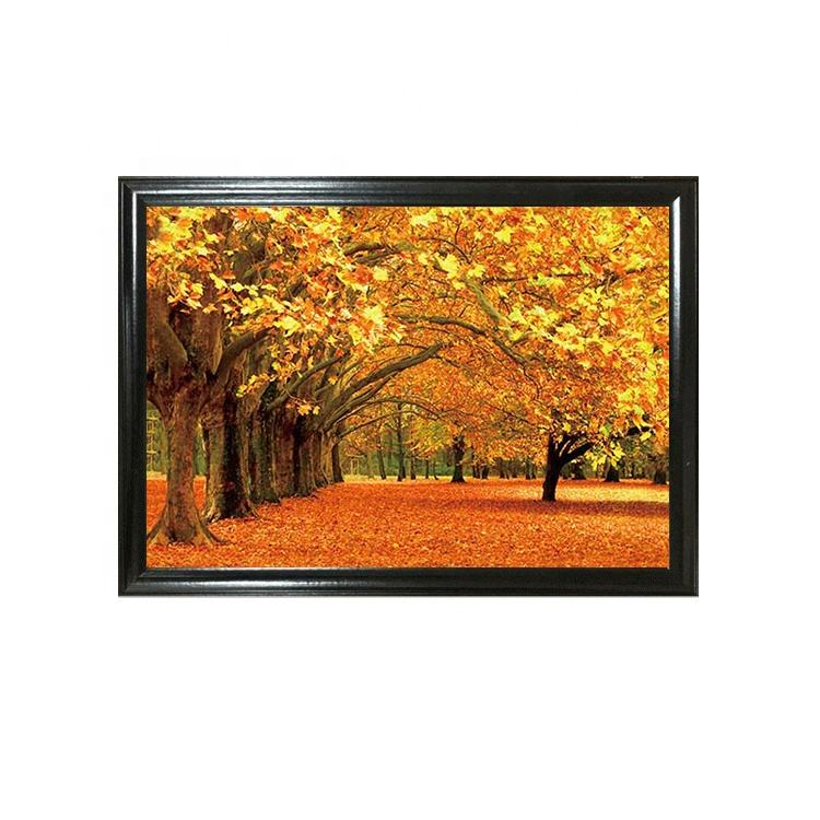 Lenticular Poster Beautiful Scenery Theme Picture Landscape 3D Lenticular Poster For Wall Hanging
