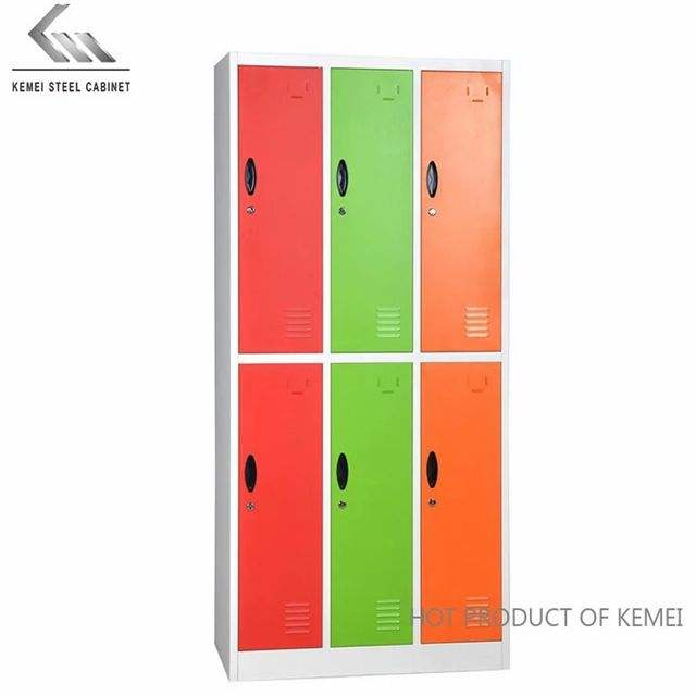 Customized Color and Locker Room Application cabinet locker