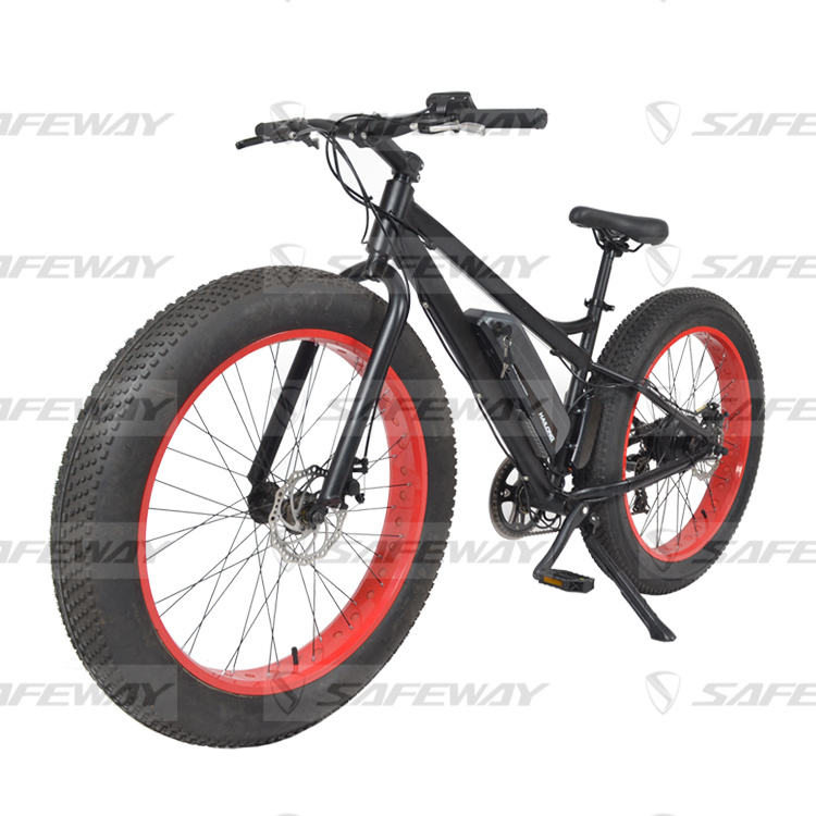 safewayBafang center motor Full suspension mid MTB ebike Bafang big power motor down hill electric bike e bicycle hidden battery