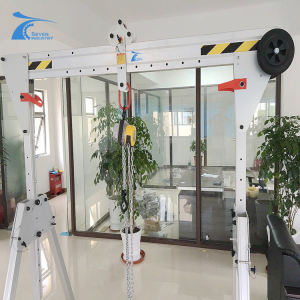 indoor/outdoor portable 2 ton 3 ton gantry crane aluminium