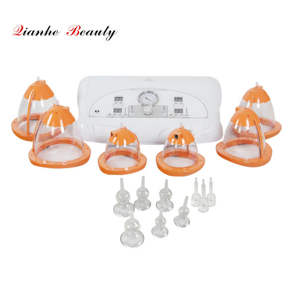 vacuum cup breast lifting machine for breast and butt enlargement
