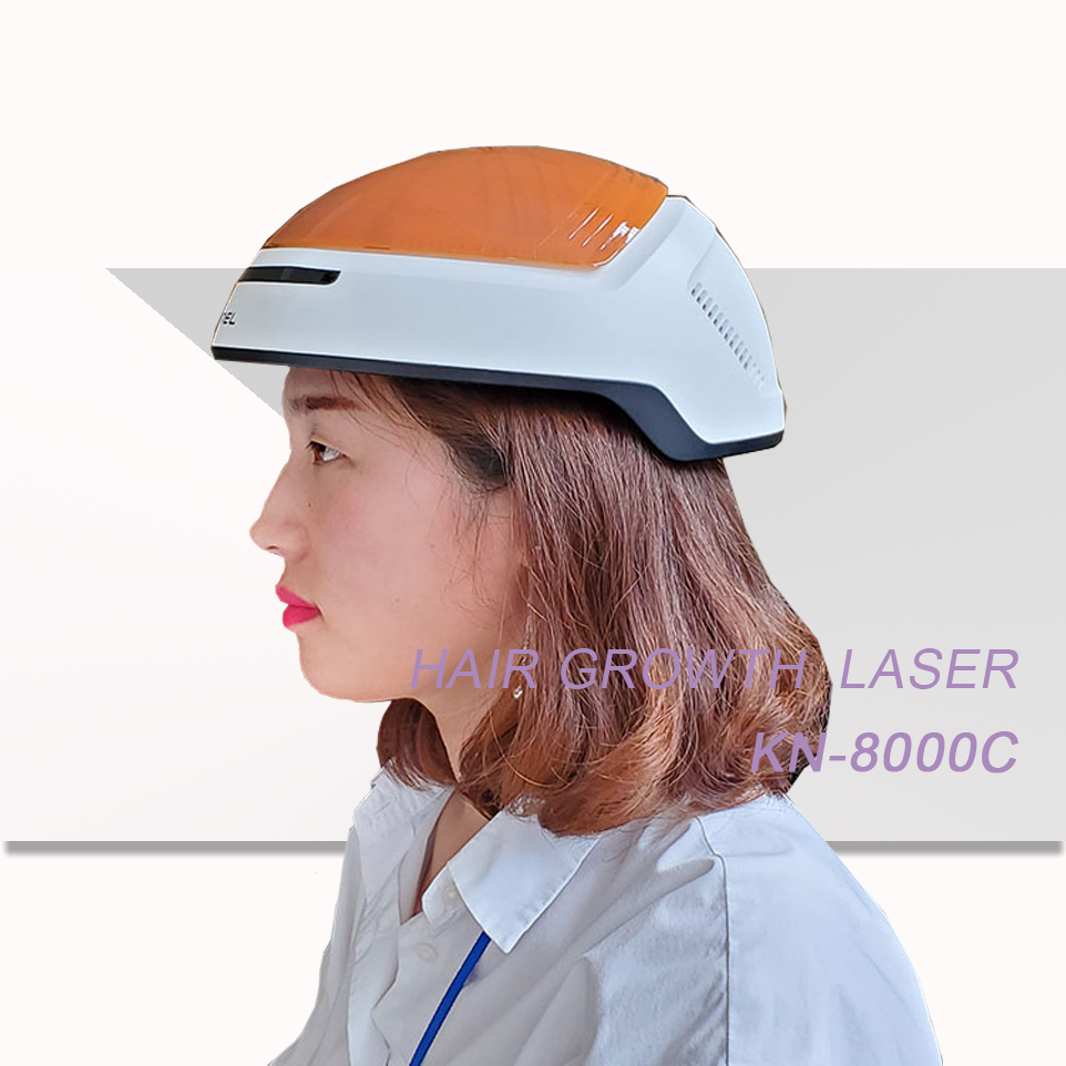 FDA approved hair laser helmet Anti-Hair loss hair regrowth Laser Cap for Home Use
