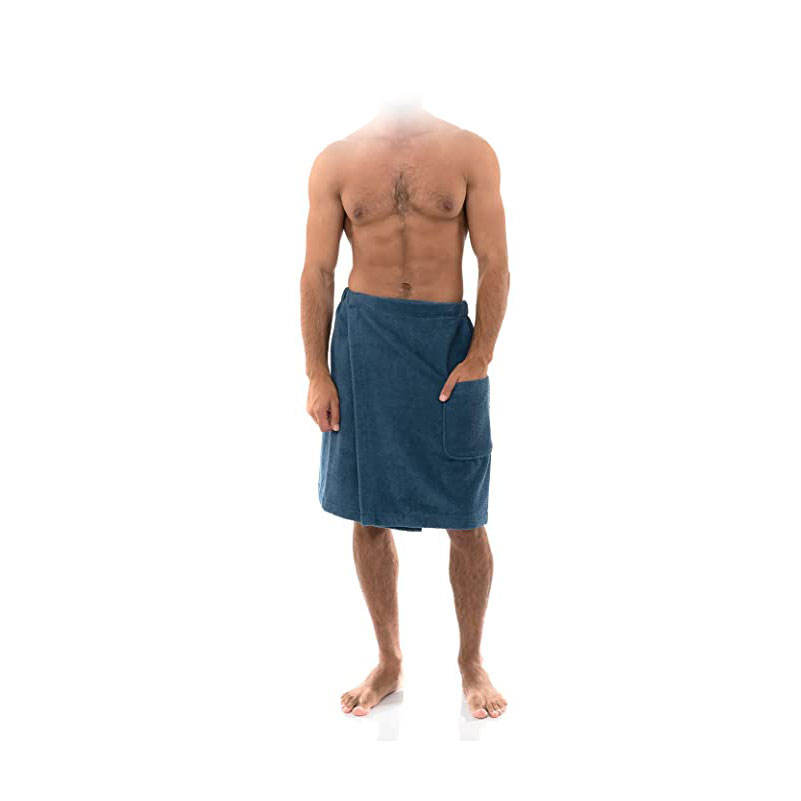 Mens Spa Wrap Towels Robes for Shower and Bath Customized bathrobes are acceptable