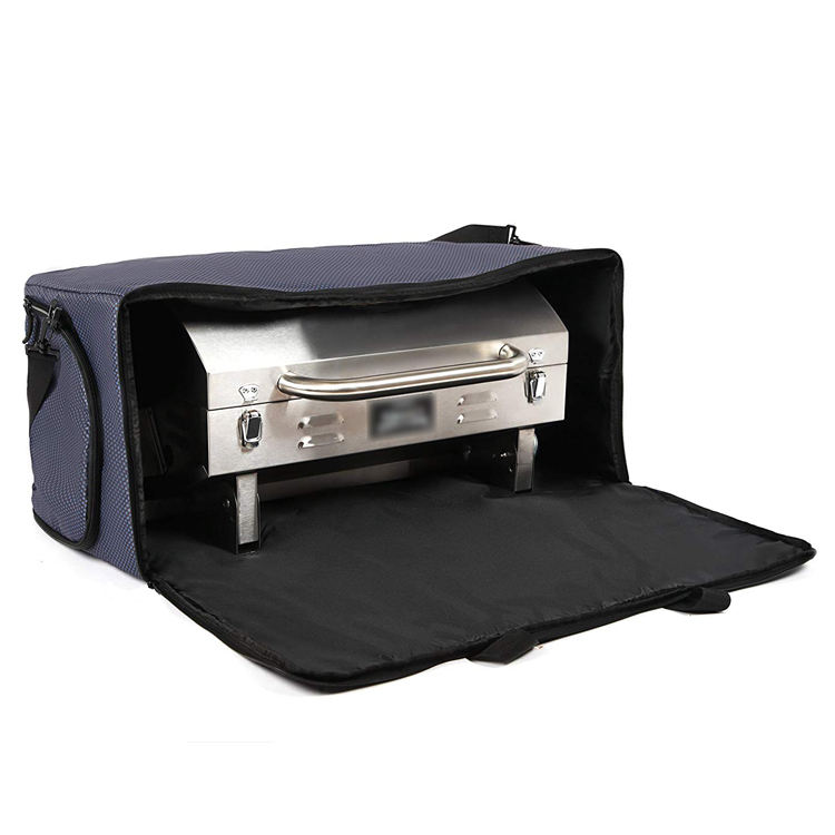 Custom Heavy Duty Tabletop Grill Storage Cover Padded BBQ Grill Bag