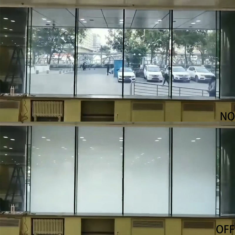 Milky White Switchable PDLC Smart Glass Film