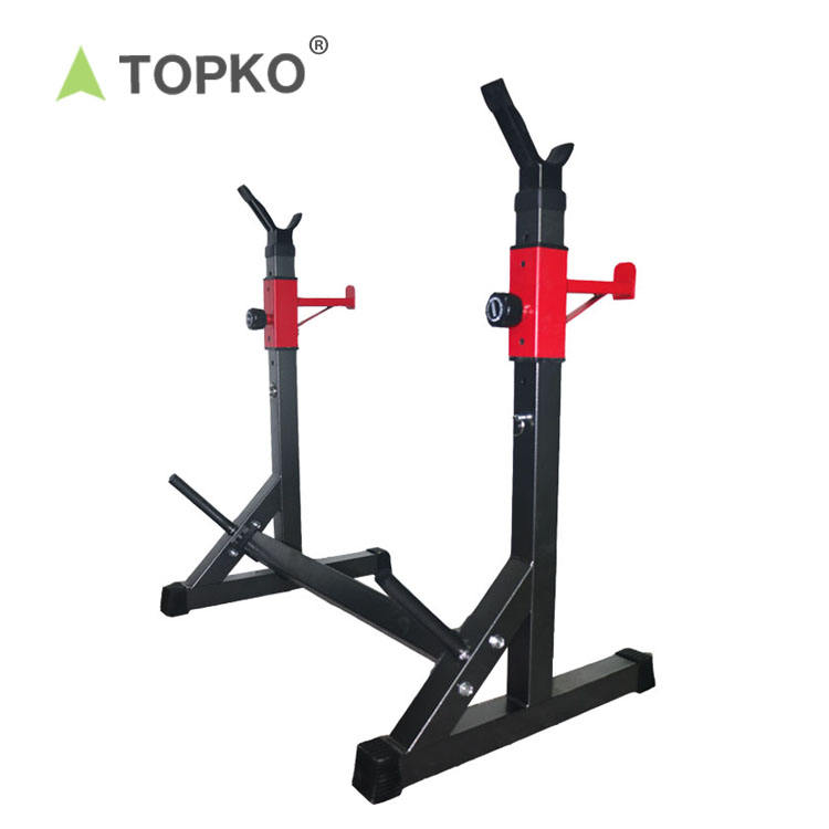 TOPKO wholesale home training wall mounted folding squat rack equipment