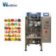 Food [ Pouch Filling Machine ] Pouch Forming Filling Sealing Machine Chocolate Candy Gummy Candy Vertical Packaging Machine