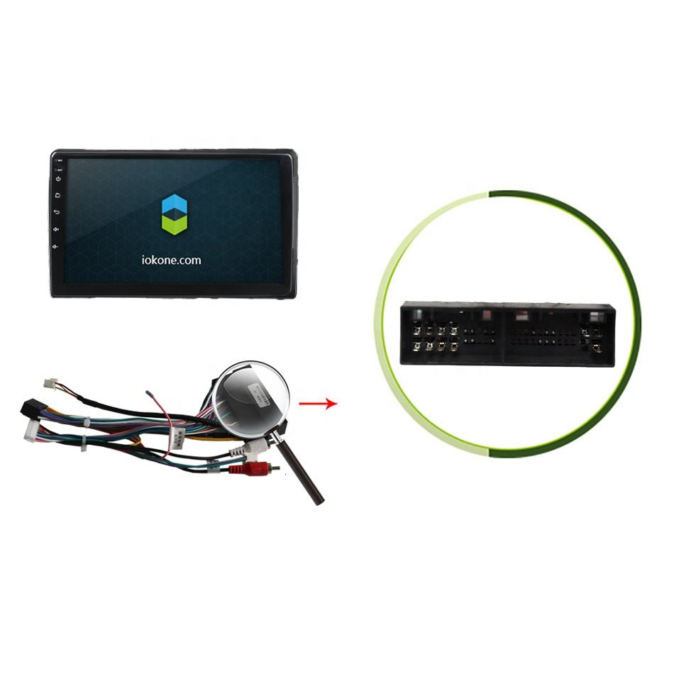 "2020 IOKONE günstige preis Großhandel 9 ""IPS 2,5 D HD 2 din android auto radio touch screen auto video player Für KIA K5 2014"