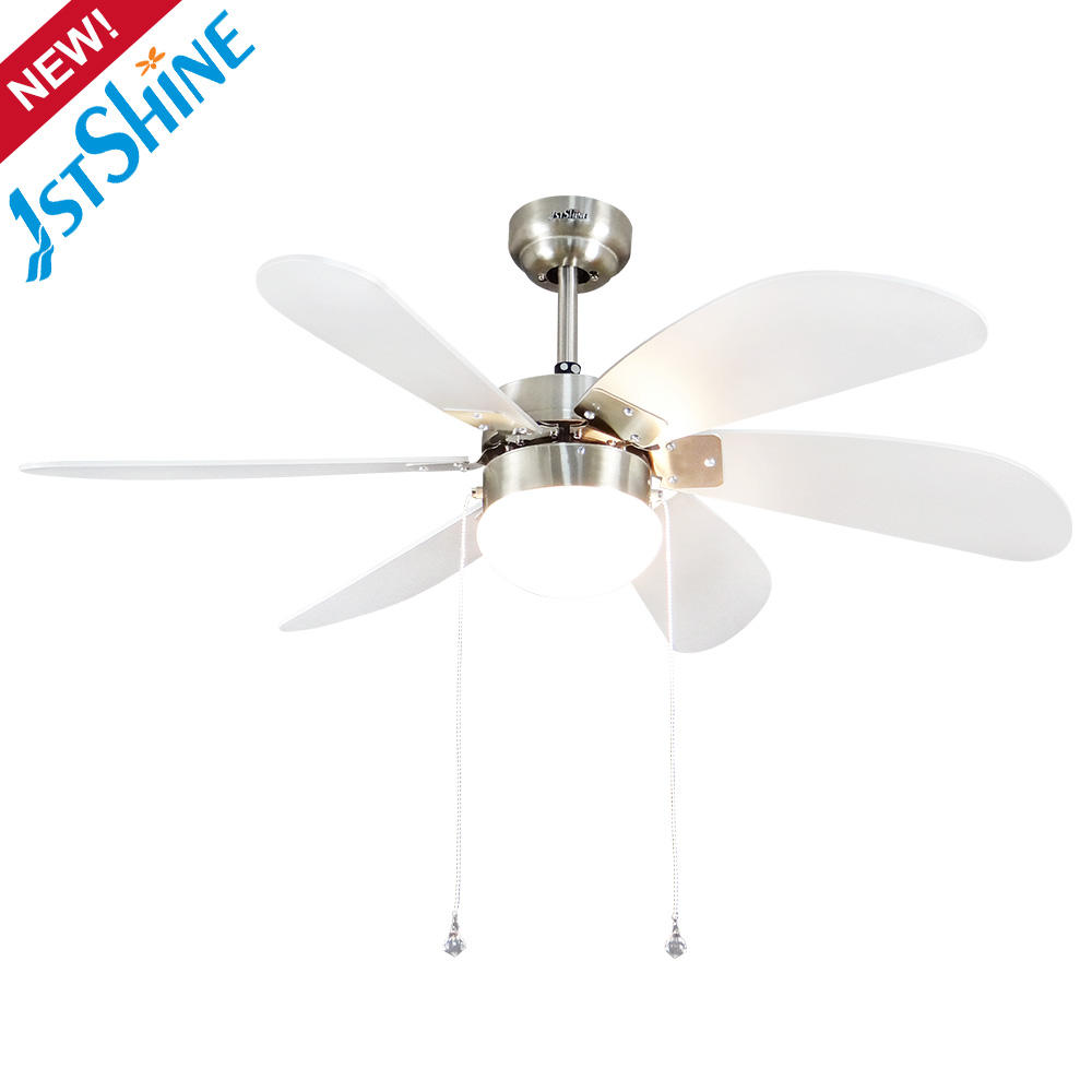 1stshine hot selling 3 speeds pull chain switch classic decorative ceiling fan