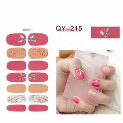 3D Beauty Personal Care Nail  Hot sale fashion  nail art stickers wraps