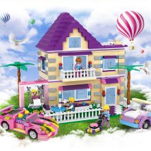 892 PCS legoinglys friends dream girls series legoinglys disneying carnival building block set