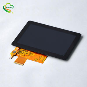 5 ''zoll 800x480 tft lcd touch screen display modul RGB 24bits kapazitiven touchscreen lcd panel